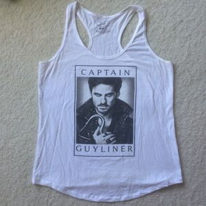 Once Upon A Time Captain Hook Tank Top